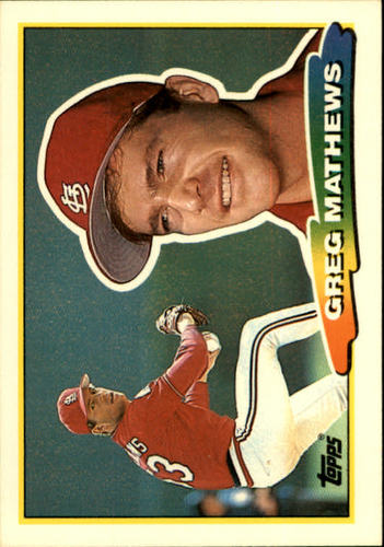 Photo of 1988 Topps Big #177 Greg Mathews