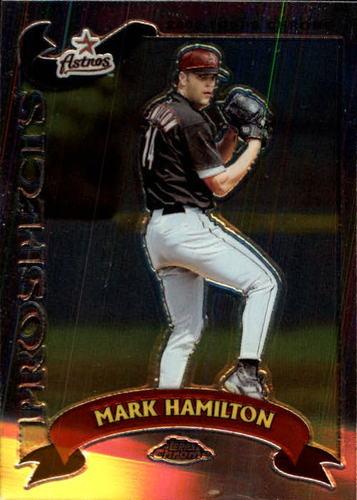 Photo of 2002 Topps Chrome Traded #T179 Mark Hamilton RC