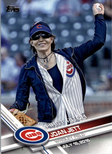 Photo of 2017 Topps First Pitch #FP8 Joan Jett