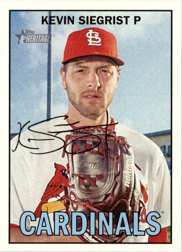 Photo of 2016 Topps Heritage #397 Kevin Siegrist