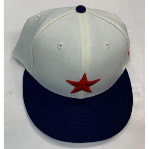 Photo of Game-Used Detroit Stars Cap: #61