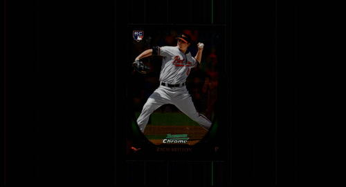 Photo of 2011 Bowman Chrome #210 Zach Britton Rookie Card