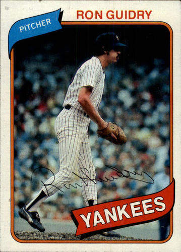 Photo of 1980 Topps #300 Ron Guidry