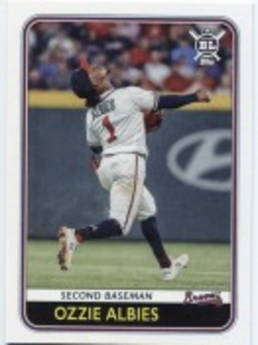 Photo of 2020 Topps Big League #54 Ozzie Albies