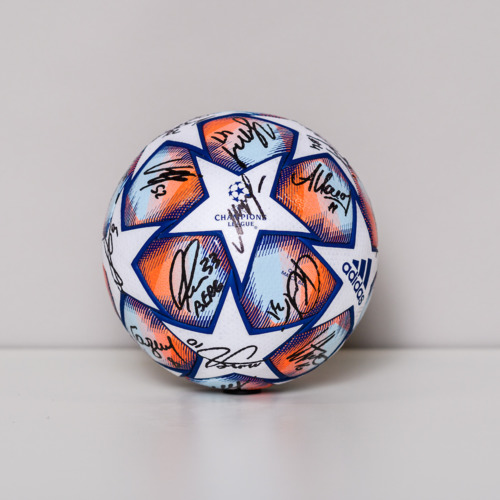 Photo of 20/21 Champions League Ball signed by the FC Krasnodar Team
