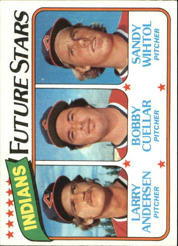 Photo of 1980 Topps #665 Larry Andersen/Bobby Cuellar RC/Sandy Wihtol RC