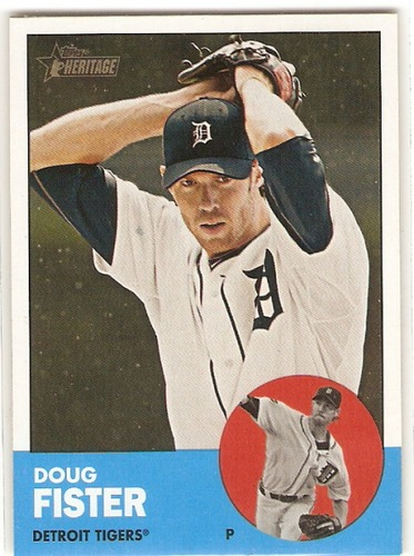 Photo of 2012 Topps Heritage #84A Doug Fister