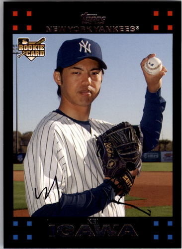 Photo of 2007 Topps #640 Kei Igawa RC