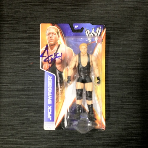 SIGNED Jack Swagger Superstar #10 Action Figure