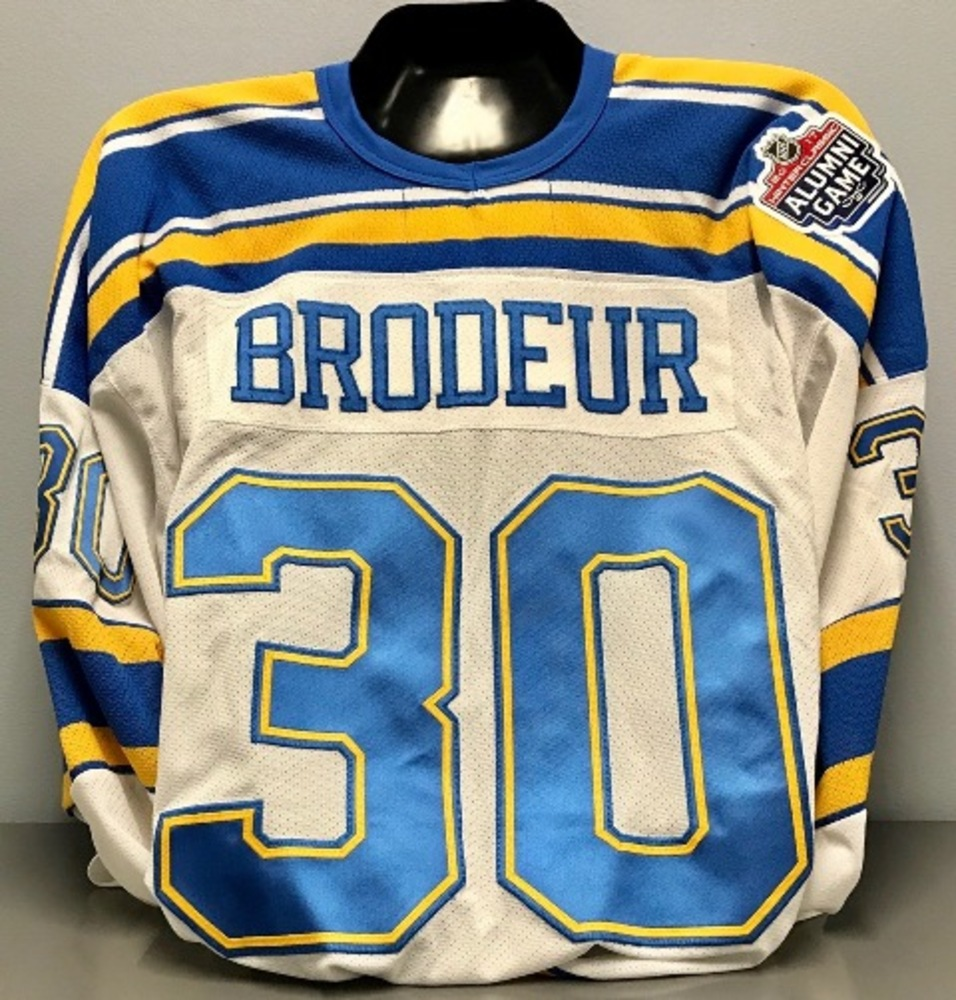 finest selection de857 1da08 Martin Brodeur Winter Classic Alumni Game Jersey - NHL Auctions