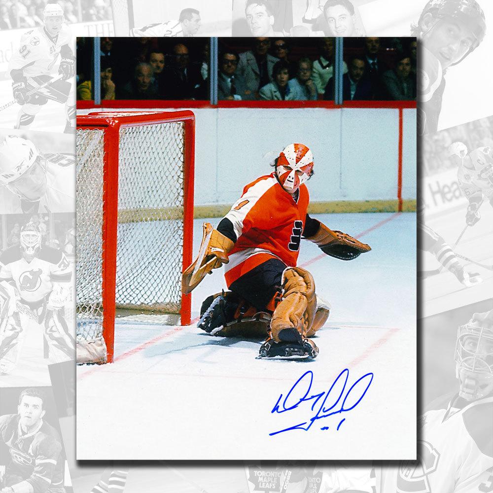 Doug Favell Philadelphia Flyers Starburst Autographed 8x10