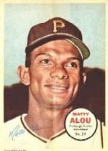 Photo of 1967 Topps Posters Inserts #29 Matty Alou