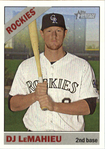 Photo of 2015 Topps Heritage #641 DJ LeMahieu