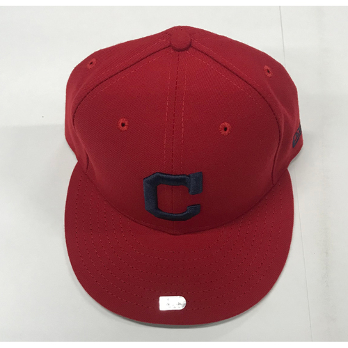 Photo of Jose Ramirez Team-Issued 2017 Alternate Home Cap