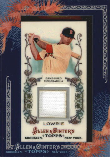Photo of 2011 Topps Allen and Ginter Relics Jed Lowrie