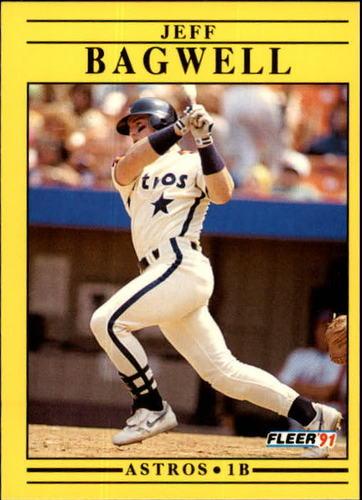Photo of 1991 Fleer Update #87 Jeff Bagwell Rookie Card