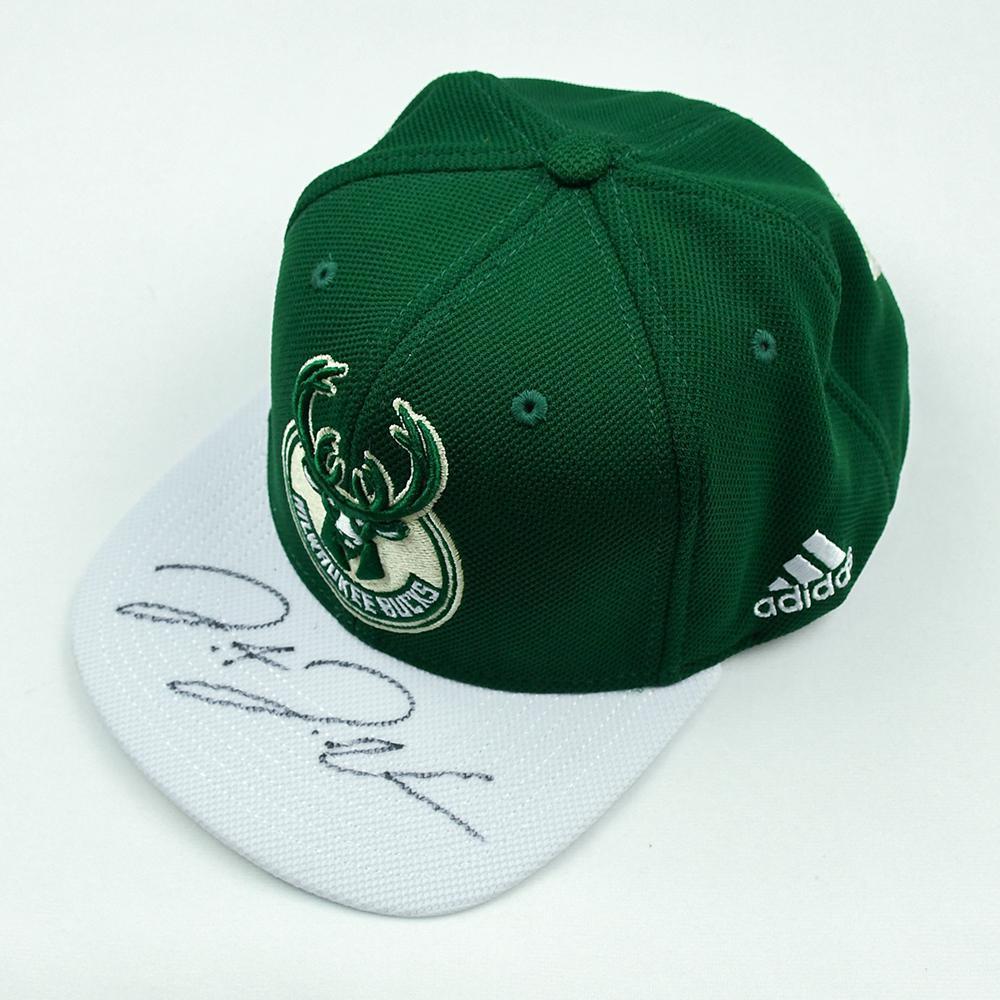 Donte DiVincenzo - Milwaukee Bucks - 2018 NBA Draft Class - Autographed Hat