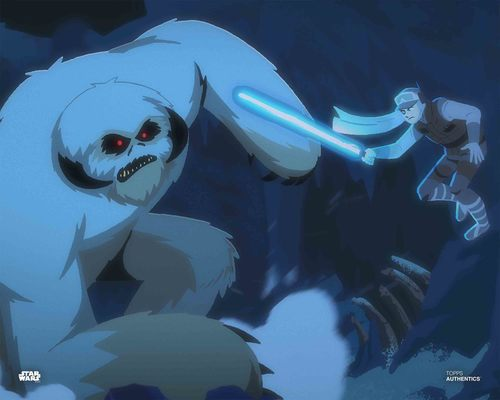 Luke Skywalker and The Wampa