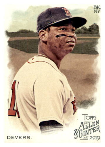 Photo of 2019 Topps Allen and Ginter #97 Rafael Devers
