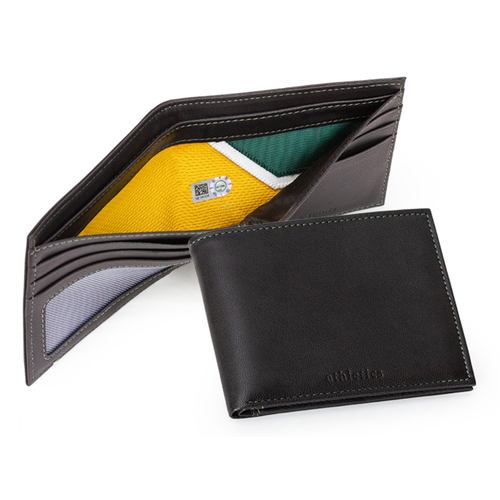 Photo of Tokens & Icons Oakland Athletics Game Used Uniform Wallet