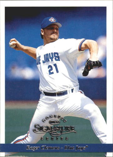 Photo of 1997 Donruss Signature #11 Roger Clemens