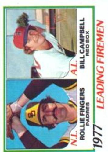 Photo of 1978 Topps #208 Leading Firemen/Rollie Fingers/Bill Campbell