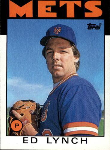 Photo of 1986 Topps #68 Ed Lynch