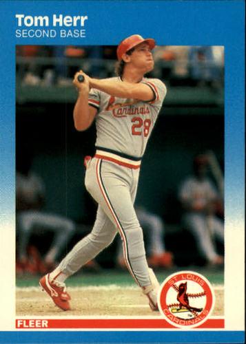 Photo of 1987 Fleer #296 Tom Herr