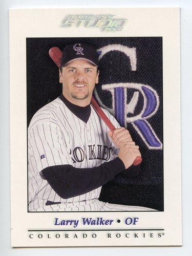 Photo of 2001 Studio #79 Larry Walker