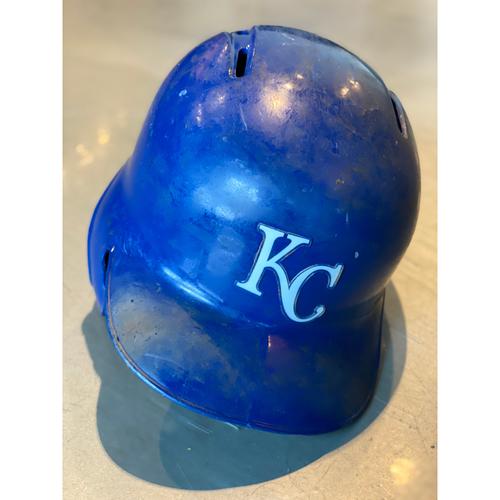 Game-Used Helmet: Nicky Lopez (Size 7 1/4 - MIN @ KC - 9/28/19)