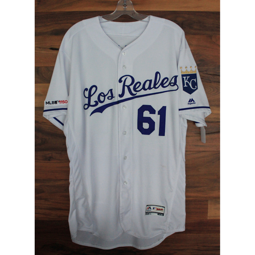 Photo of Game-Used Jersey: Kevin McCarthy (MIN @ KC - 6/21/19)