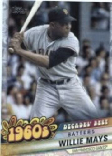 Photo of 2020 Topps Decades' Best Series 2 #DB26 Willie Mays