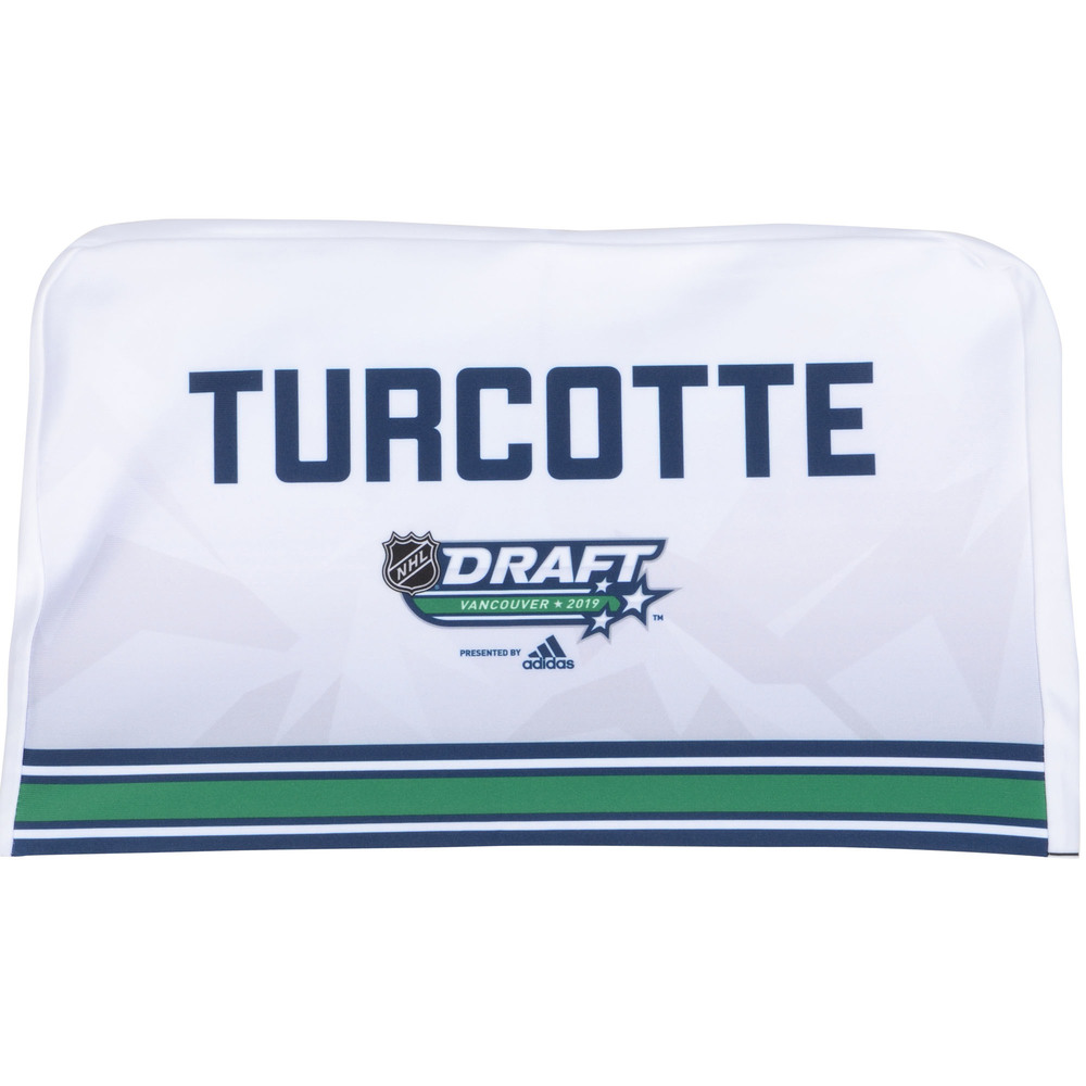 Alex Turcotte Los Angeles Kings 2019 NHL Draft Seat Cover - Second set (Not Used)