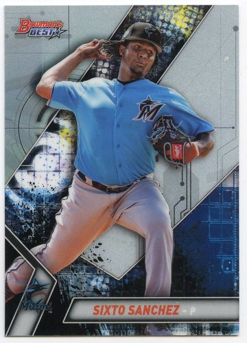 Photo of 2019 Bowman's Best Top Prospects #TP19 Sixto Sanchez
