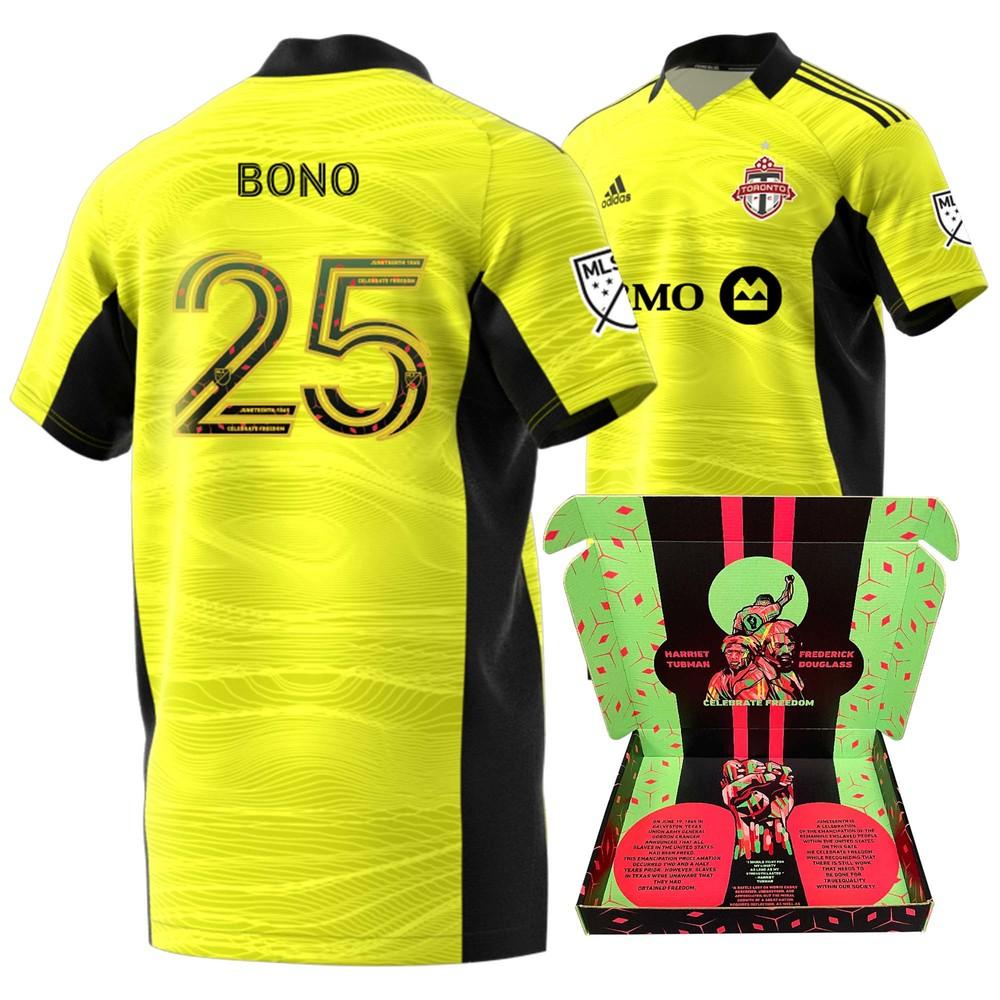Alex Bono Toronto FC Player-Issued & Signed