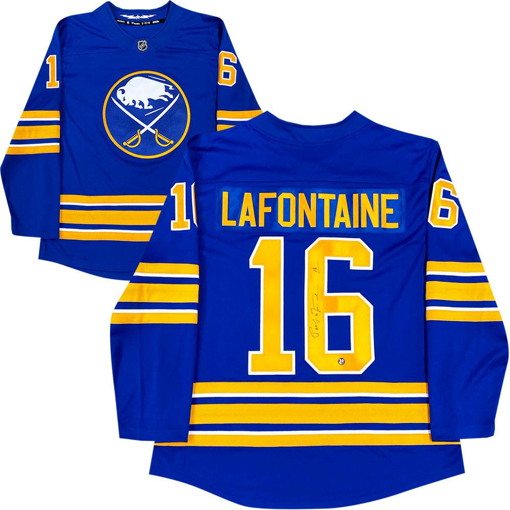Pat Lafontaine Autographed Buffalo Sabres Fanatics Jersey