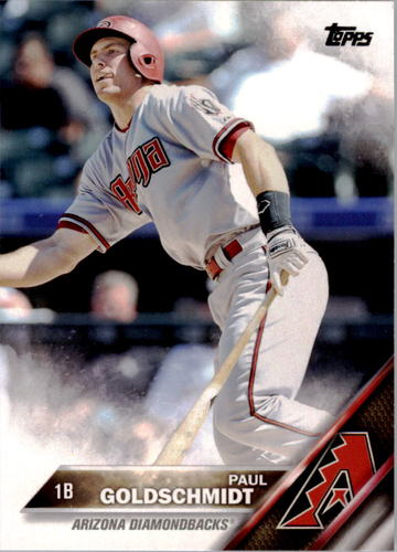 Photo of 2016 Topps #259A Paul Goldschmidt