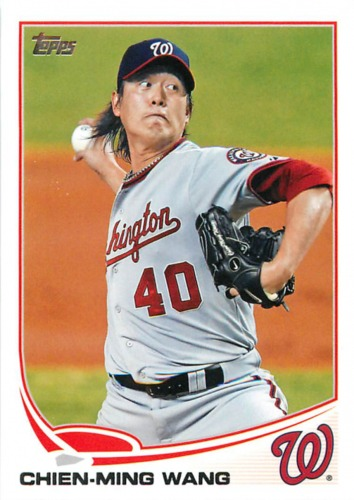 Photo of 2013 Topps #40 Chien-Ming Wang