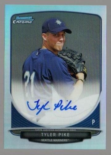 Photo of 2013 Bowman Chrome Prospect Autographs Refractors #TP Tyler Pike