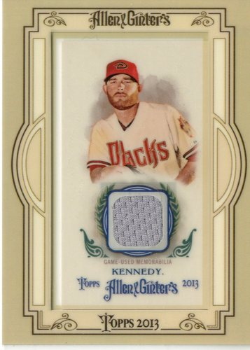 Photo of 2013 Topps Allen and Ginter Framed Mini Relics #IK Ian Kennedy