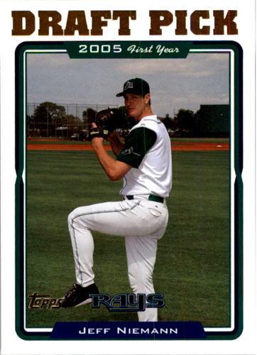 Photo of 2005 Topps #682 Jeff Niemann FY RC