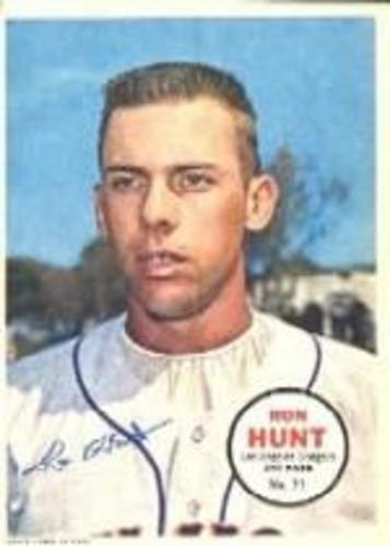 Photo of 1967 Topps Posters Inserts #31 Ron Hunt