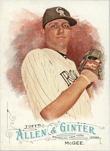 Photo of 2016 Topps Allen and Ginter #72 Jake McGee