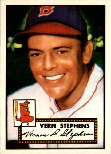 Photo of 1983 Topps 1952 Reprint #84 Vern Stephens