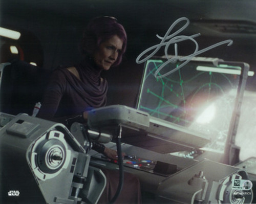 Laura Dern as Vice Admiral Holdo 8x10 Autographed in Silver Ink Photo