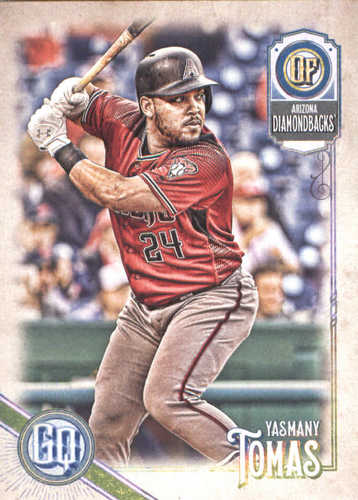 Photo of 2018 Topps Gypsy Queen #179 Yasmany Tomas