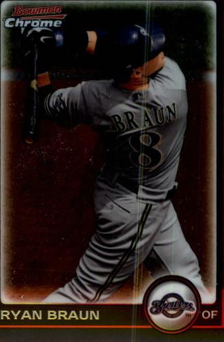 Photo of 2010 Bowman Chrome #1 Ryan Braun