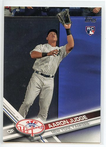 Photo of 2017 Topps #287A Aaron Judge Rookie Card