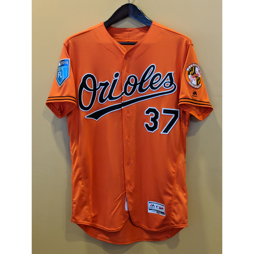 Photo of Dylan Bundy - Spring Training Jersey: Team-Issued