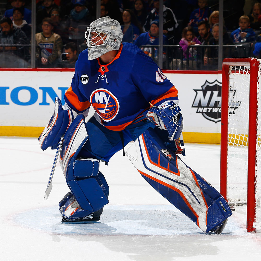 Robin Lehner- Jersey off the Back Auction- New York Islanders